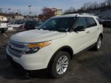 2011 Ford Explorer White Suede