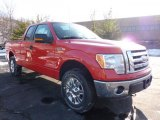 2011 Race Red Ford F150 XLT SuperCab 4x4 #42440060
