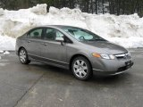 2006 Galaxy Gray Metallic Honda Civic LX Sedan #4231645