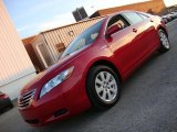 2008 Barcelona Red Metallic Toyota Camry Hybrid #42439815