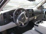 2011 Chevrolet Silverado 1500 LT Extended Cab 4x4 Light Titanium/Ebony Interior