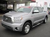2008 Silver Sky Metallic Toyota Tundra Limited CrewMax 4x4 #42440371