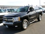 2008 Black Chevrolet Silverado 1500 LT Regular Cab 4x4 #42440153
