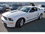 2007 Performance White Ford Mustang Shelby GT Coupe #42439902