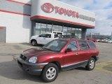 2004 Merlot Red Hyundai Santa Fe LX #42439975