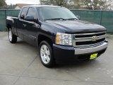 2008 Dark Blue Metallic Chevrolet Silverado 1500 LT Extended Cab #42440259