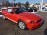 2011 Race Red Ford Mustang V6 Coupe #42439998