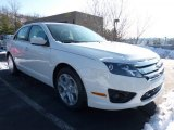 2011 White Suede Ford Fusion SE #42440004