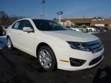 2011 White Suede Ford Fusion SE V6 #42440011
