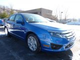 2011 Blue Flame Metallic Ford Fusion SE #42440016