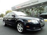 2008 Deep Sea Blue Pearl Effect Audi A4 2.0T S-Line Sedan #42440822