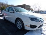 2011 White Suede Ford Fusion SE #42440017