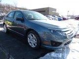 2011 Steel Blue Metallic Ford Fusion SE #42440023