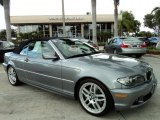 2004 Silver Grey Metallic BMW 3 Series 330i Convertible #42517293
