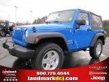 2011 Cosmos Blue Jeep Wrangler Sport S 4x4 #42517582