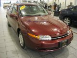 2000 Dark Red Saturn L Series LS1 Sedan #42518096