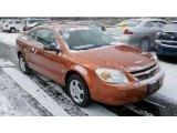 2007 Sunburst Orange Metallic Chevrolet Cobalt LS Coupe #42517363