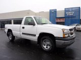 2004 Summit White Chevrolet Silverado 1500 Regular Cab 4x4 #42517654