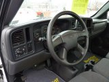 2004 Chevrolet Silverado 1500 Regular Cab 4x4 Dark Charcoal Interior
