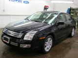 2008 Dark Blue Ink Metallic Ford Fusion SEL #42518204