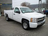 2011 Summit White Chevrolet Silverado 1500 LS Regular Cab 4x4 #42517425