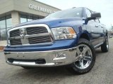 2010 Deep Water Blue Pearl Dodge Ram 1500 Big Horn Crew Cab #42517428