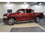 2011 Deep Cherry Red Crystal Pearl Dodge Ram 1500 Sport Crew Cab #42517700