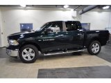 2011 Hunter Green Pearl Dodge Ram 1500 Big Horn Crew Cab #42517704