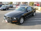 2007 Black Ford Mustang V6 Deluxe Coupe #42517750