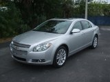 2011 Chevrolet Malibu Silver Ice Metallic