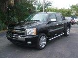2011 Black Chevrolet Silverado 1500 LT Crew Cab #42517496