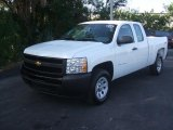 2011 Summit White Chevrolet Silverado 1500 Extended Cab 4x4 #42517498
