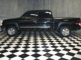 2004 Black Chevrolet Silverado 1500 Z71 Crew Cab 4x4 #42517766
