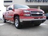 2006 Victory Red Chevrolet Silverado 1500 LS Crew Cab 4x4 #42518018