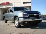 2006 Blue Granite Metallic Chevrolet Silverado 1500 LT Crew Cab 4x4 #42518021