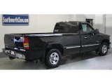 2002 Onyx Black Chevrolet Silverado 1500 LS Regular Cab #42518031