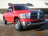 2007 Flame Red Dodge Ram 1500 ST Quad Cab #42596994