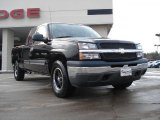 2005 Black Chevrolet Silverado 1500 LS Extended Cab 4x4 #42596997