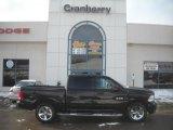 2010 Brilliant Black Crystal Pearl Dodge Ram 1500 Sport Crew Cab 4x4 #42596477