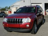 2006 Red Rock Crystal Pearl Jeep Grand Cherokee Limited #42596493