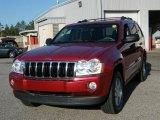 2006 Jeep Grand Cherokee Red Rock Crystal Pearl