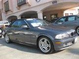 2002 Steel Grey Metallic BMW 3 Series 330i Convertible #42596531
