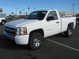2011 Summit White Chevrolet Silverado 1500 LS Regular Cab 4x4 #42596870