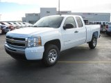 2011 Summit White Chevrolet Silverado 1500 LS Extended Cab #42596871