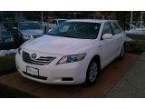 2008 Super White Toyota Camry Hybrid #42596875