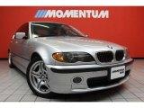 2004 Titanium Silver Metallic BMW 3 Series 330i Sedan #42596897