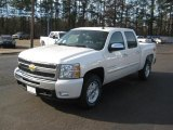 2011 White Diamond Tricoat Chevrolet Silverado 1500 LT Crew Cab 4x4 #42597153