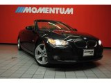 2008 Black Sapphire Metallic BMW 3 Series 335i Convertible #42596901