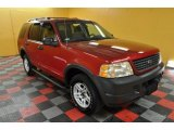 2003 Redfire Metallic Ford Explorer XLS 4x4 #42596929
