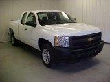 2011 Summit White Chevrolet Silverado 1500 Extended Cab #42596963